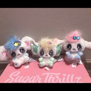 Peropero Sparkles 3 new plushes Melo, Cune, Rue